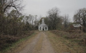 A country church in rural Mississippi.