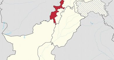 Location of the Federally Administered Tribal Areas (FATA) in Pakistan. Source: WIkipedia Commons.