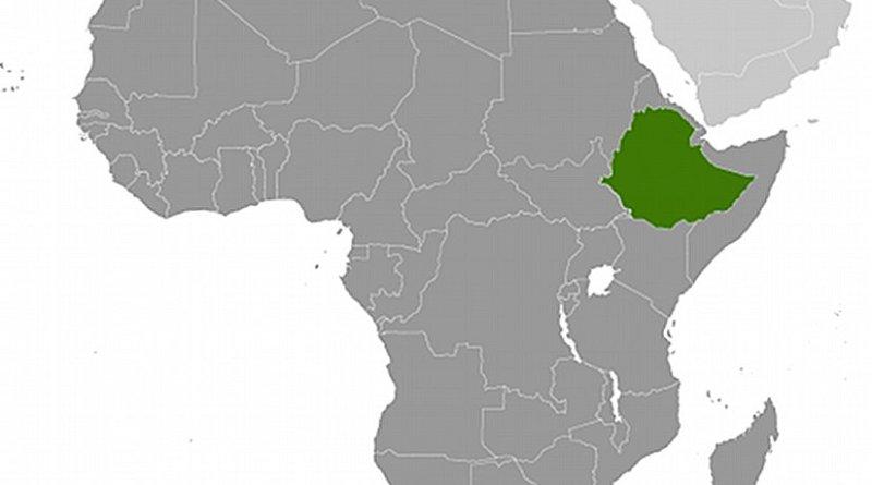 Location of Ethiopia. Source: CIA World Factbook.