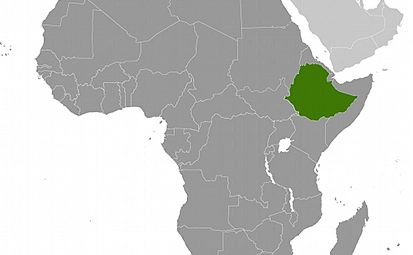 Location of Ethiopia. Source: CIA World Factbook.