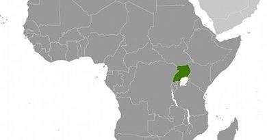 Location of Uganda. Source: CIA World Factbook.