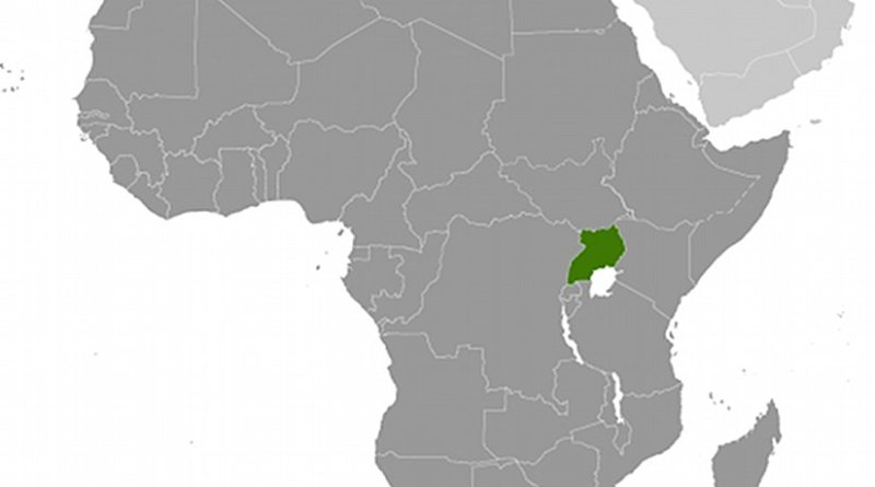 Location of Uganda. Source: CIA World Factbook.