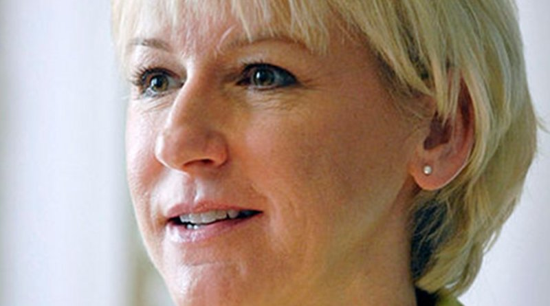 Sweden's Margot Wallstrom. Photo by Johannes Jansson, Wikipedia Commons.
