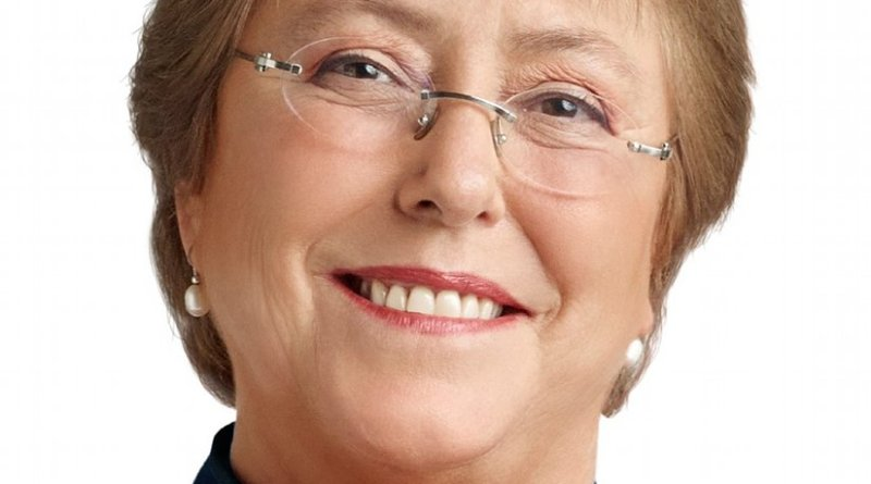 Chile's Michelle Bachelet. Photo Credit: Comando Michelle Bachelet, Wikipedia Commons.