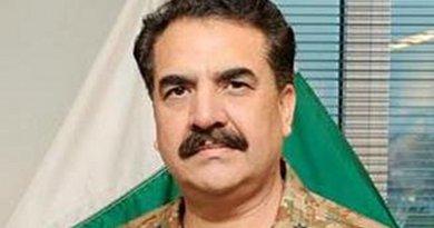 Pakistan's Raheel Sharif. U.S. Army photo by Staff Sgt. Steven Schneider, Wikipedia Commons.