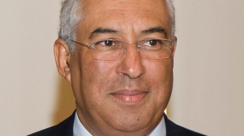 Portugal's Antonio Costa. Photo by Junta Informa, Wikipedia Commons.