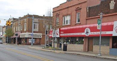 Hamtramck, Michigan. Photo by Andrew Jameson, Wikipedia Commons.