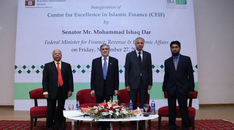 Launch of Centre for Excellence in Islamic Finance (CEIF) at IBA City Campus.