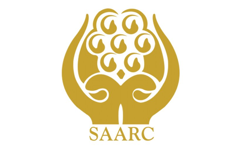 Logo of South Asian Association for Regional Cooperation (SAARC).