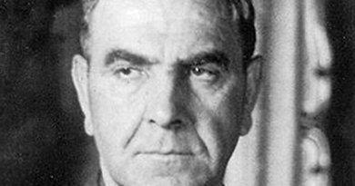 Croatia's Fascist leader Ante Pavelic. Source: Wikipedia Commons.
