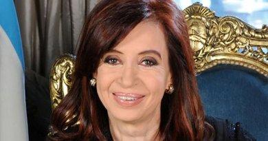 Cristina Fernández de Kirchner. Photo Credit: Víctor Bugge, Wikipedia Commons.