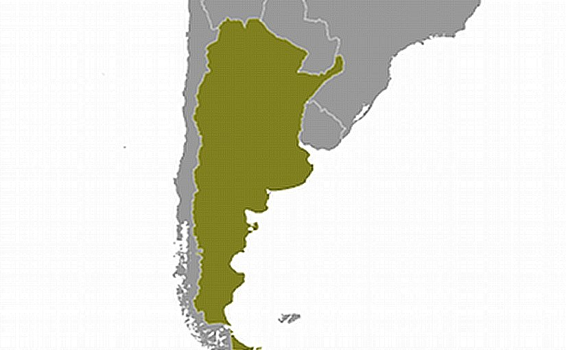 Location of Argentina. Source: CIA World Factbook.