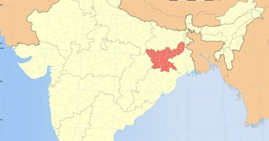Location of Jharkhand in India. Source: Wikipedia Commons.