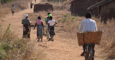 Village life in Malawi