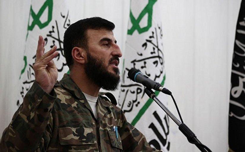 Zahran Alloush. Photo via Syria Comment.