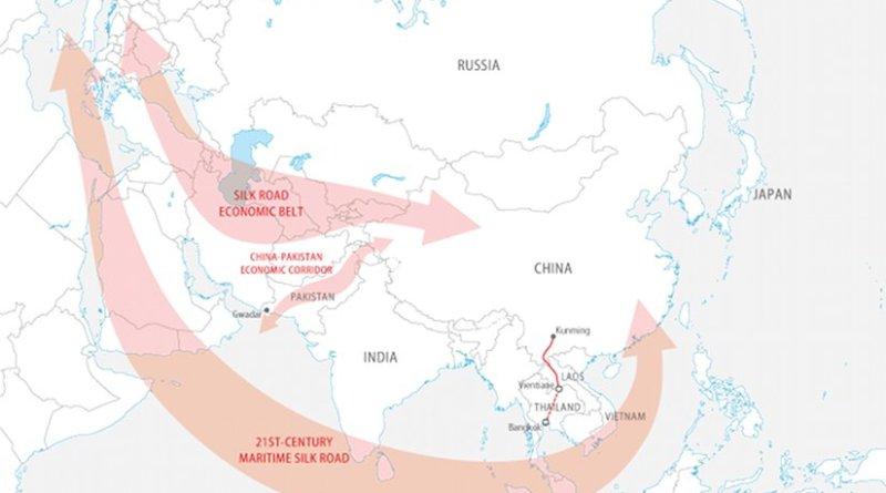 China's 'One Belt, One Road' initiative. Graphic Source: FPRI.