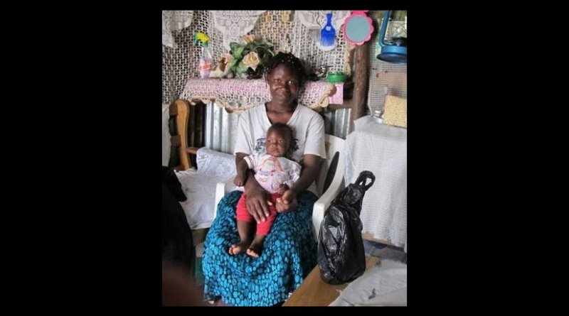 Divorced mothers shown with their young children in Nairobi, Kenya. Photo Credit: Cassandra Cotton
