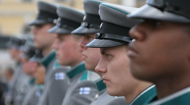 Soldiers in Finland's Army.