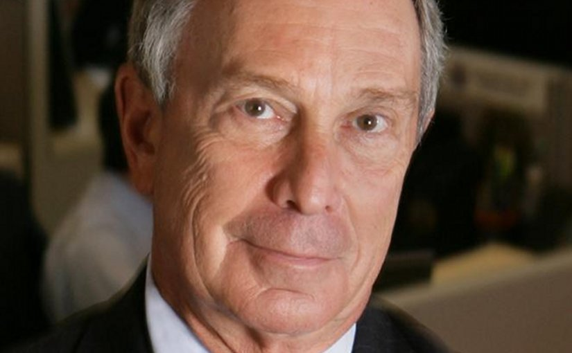 Michael R. Bloomberg. Photo Credit: Rubenstein, Wikipedia Commons.