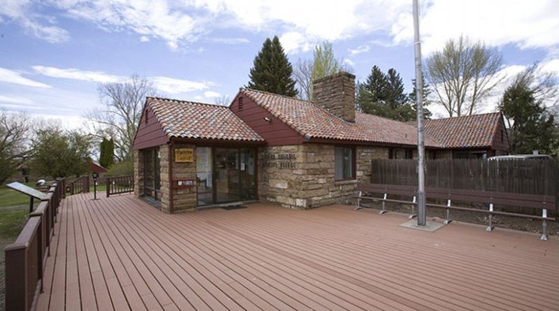 Headquarters for the Malheur National Wildlife Refuge in SE Oregon. Photo by Cacophony, Wikipedia Commons.