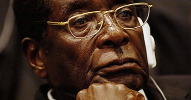 President of Zimbabwe Robert Mugabe. Photo by Tech. Sgt. Jeremy Lock (USAF), Wikipedia Commons.