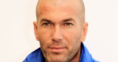 Zinedine Zidane. Photo by Walterlan Papetti, Wikipedia Commons.