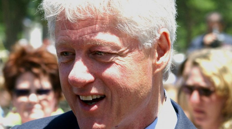 Bill Clinton, former President of the United States. Source: Wikipedia Commons.
