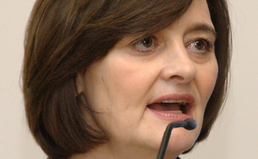 Cherie Blair. Photo by Jaqen (Niccolò Caranti), Wikipedia Commons.