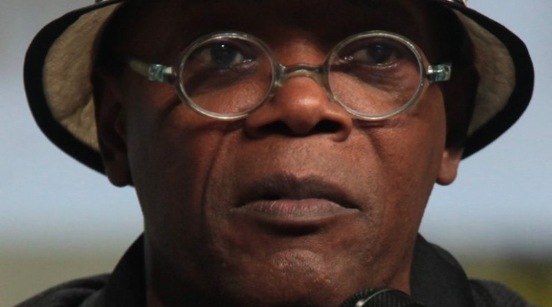 Samuel L. Jackson. Photo by Gage Skidmore, Wikipedia Commons.
