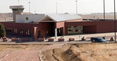 The ADX Florence supermax prison in Colorado, United States. Federal Bureau of Prisons photo.
