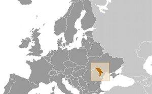 Location of Moldova. Source: CIA World Factbook.