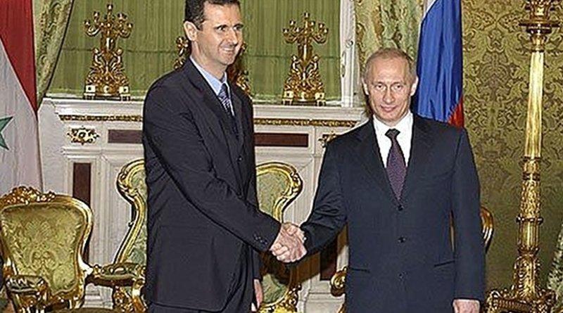 A 2005 meeting between Syria's Bashar al-Assad and Russia's Vladimir Putin. Photo Credit: Kremlin.ru