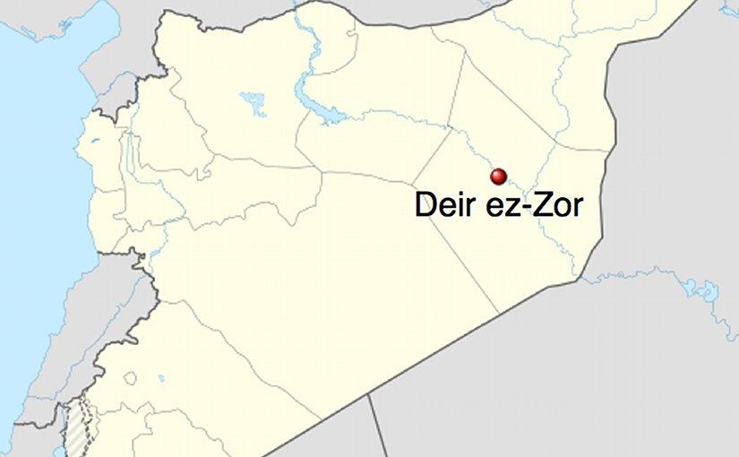 Syrian Army Launches Massive Assault In Western Deir Ez-Zor