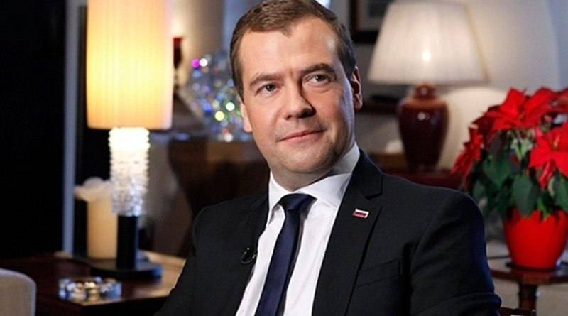 Russia's Dmitry Medvedev. Photo Credit: Government.ru, Wikipedia Commons.