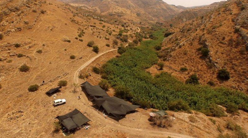 NEG II nestled in the Jordan Valley. Credit: Austin (Chad) Hill ©Leore Grosman