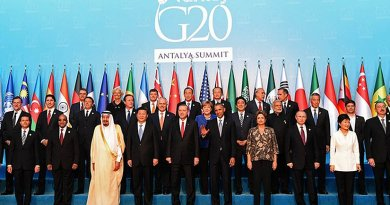 Family portrait of G20 leaders during the G20 Summit in Antalya, Turkey. Photo: Government ZA (CC BY-ND 2.0)