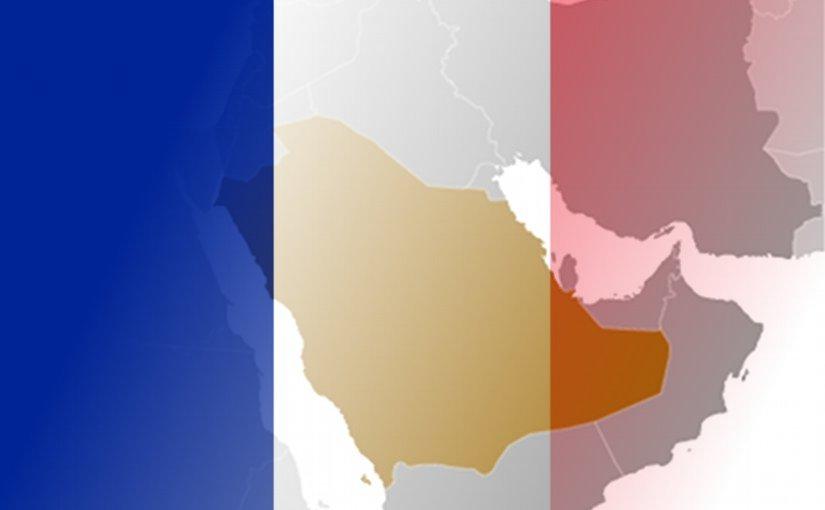 Flag of France and Saudi Arabia