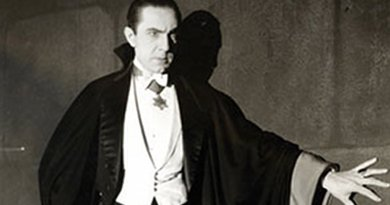 Bela Lugosi as Dracula, anonymous photograph from 1931, Universal Studios, Wikipedia Commons.
