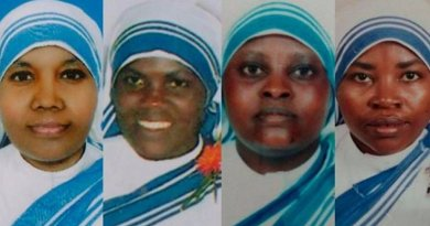 From L-R: Sr. Anselm, Sr. Reginette, Sr. Judith, Sr. Marguerite. Credit: The Apostolic Vicariate of Southern Arabia.