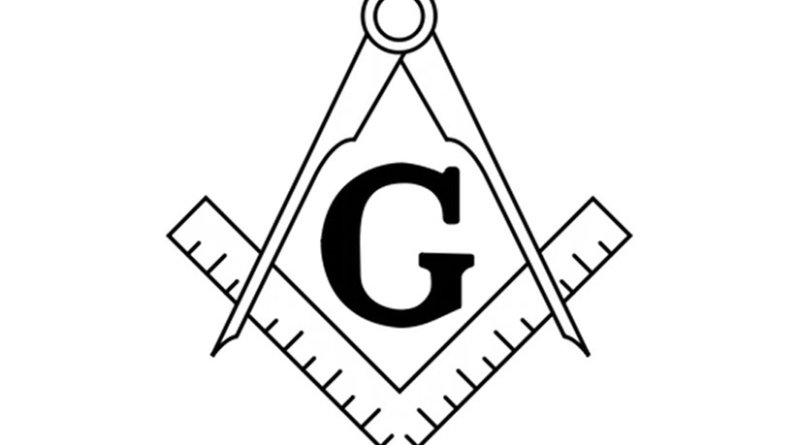 The Masonic Square and Compasses
