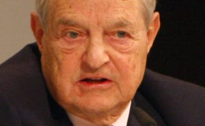 George Soros. Photo by Harald Dettenborn, Wikipedia Commons.