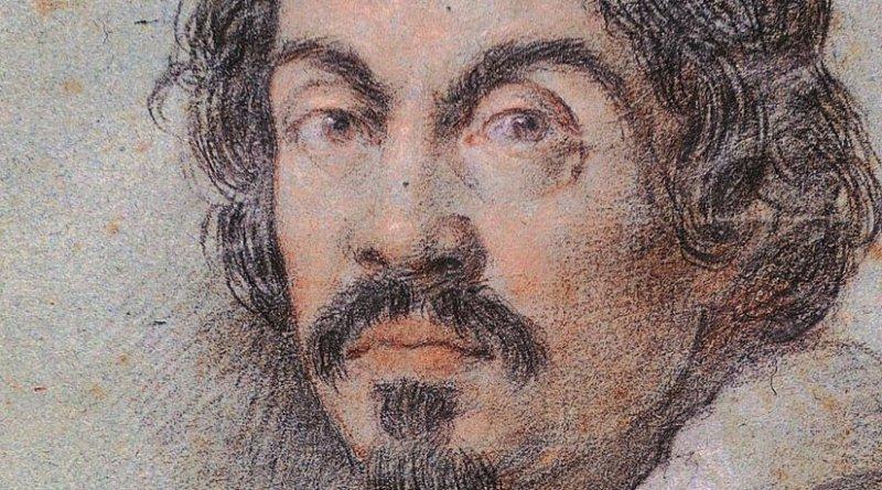 Chalk portrait of Caravaggio by Ottavio Leoni. Source: Wikipedia Commons.