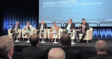 Think Forest' Panel during IMF/World Bank Spring Meeting. Credit: Fabiola Oritz.