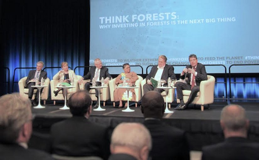 Think Forest' Panel during IMF/World Bank Spring Meeting. Credit: Fabiola Oritz.