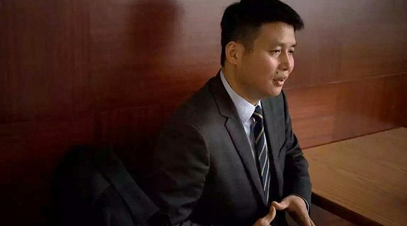 Guangzhou human rights lawyer Ge Yongxi is shown in an undated file photo. Photo courtesy of fellow rights lawyers