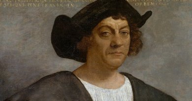 Painting believed to be of Christopher Columbus. Source: Wikipedia Commons.