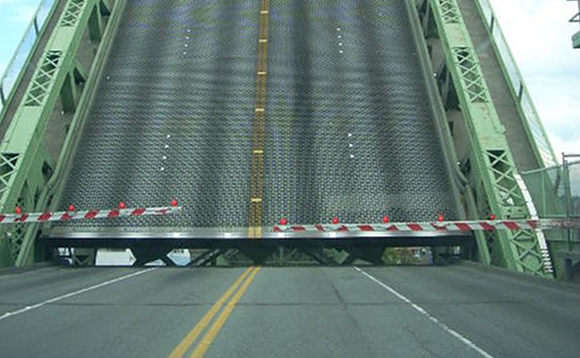 bridge roadblock