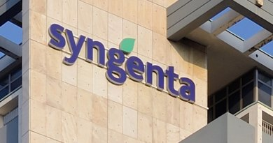 Syngenta headquarters in Basel. Photo by Taxiarchos228, Wikipedia Commons.