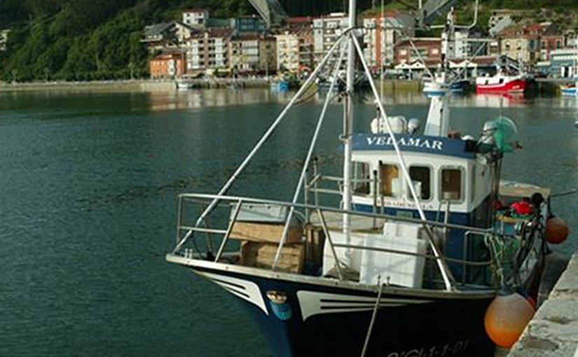 Spanish fishing boat. Photo Credit: Ministerio de Empleo y Seguridad Social