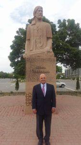 Peter Tase in Nakhchivan.